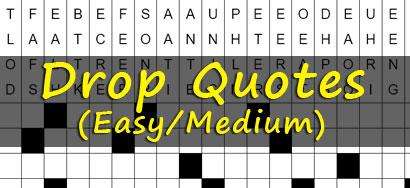 Drop Quotes Printable Drop Quote Puzzles Drop Quotes